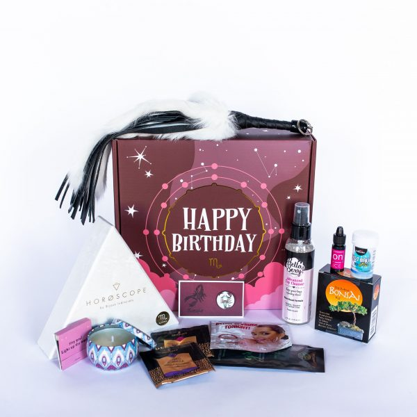 Scorpio Birthday Box Overview