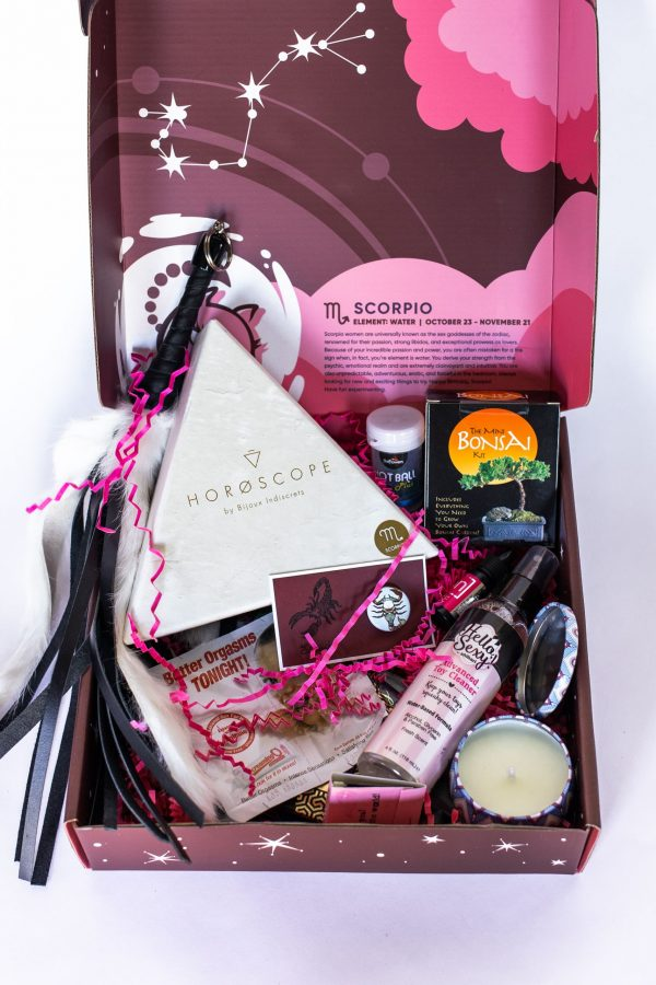 Scorpio Birthday Sex Box