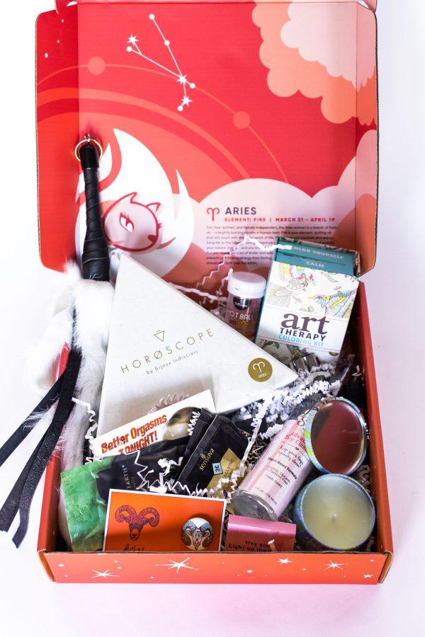 Aries Birthday Sex Box