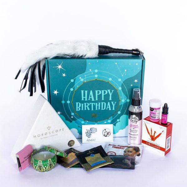Aquarius Birthday Sex Box Overview